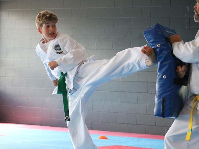 01kick, Sundance Martial Arts Vernon, British Columbia